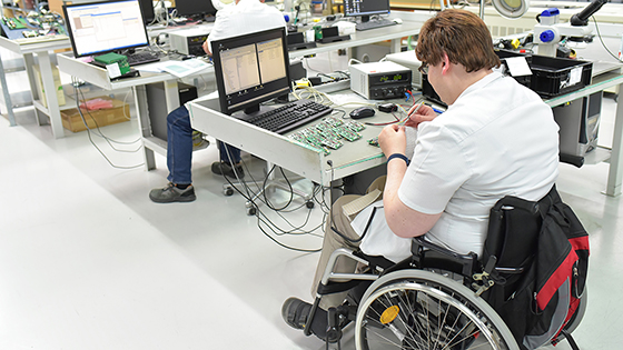employment technology disabled