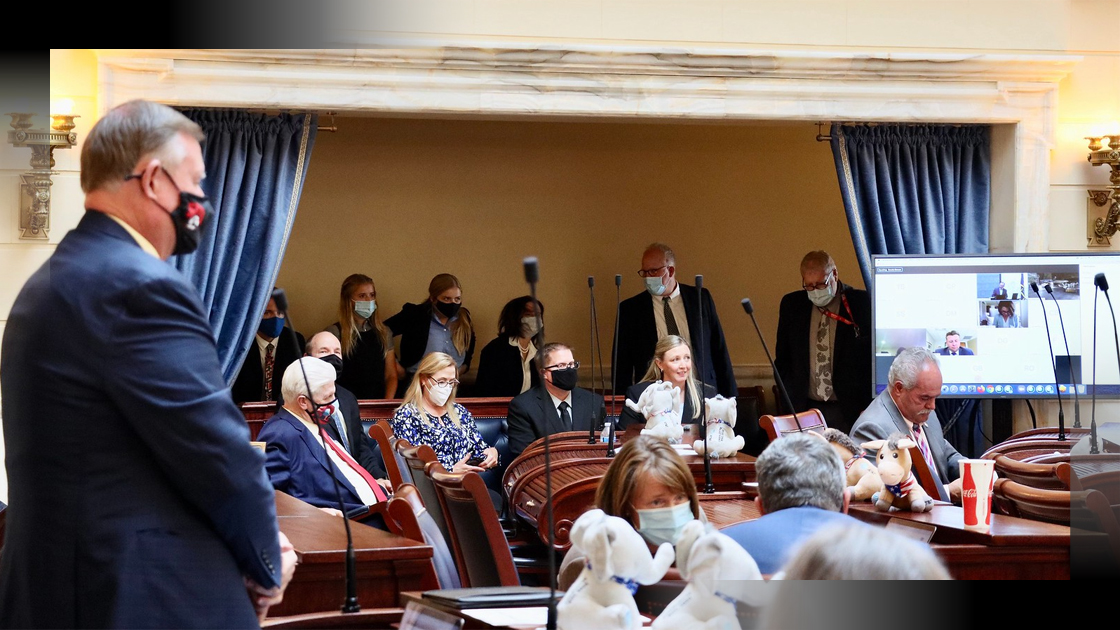 utah senate special session august 2020 covid