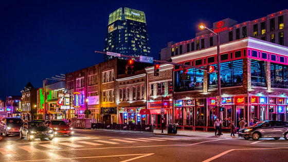 Photo of Broadway in Nashville