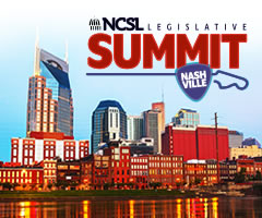 NCSL Legislative Summit logo for Nashville.