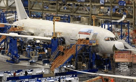 Boeing Plant and Aviation Tour